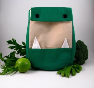 Harold the Lunch Monster from Ones and Zeros Fashion