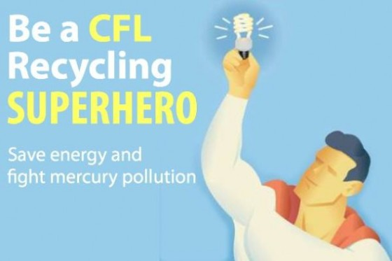 Take the CFL Recycling challenge at Lighter Footstep.