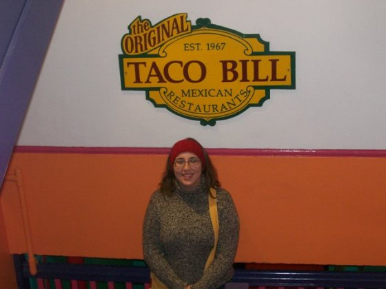 Taco Bill and me.