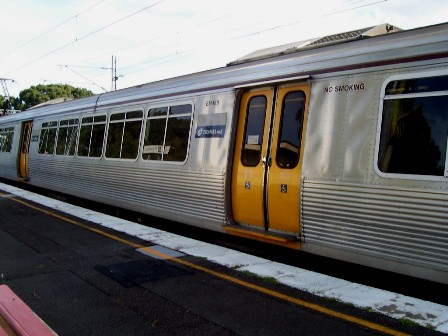 Queensland Rail (QR) train.
