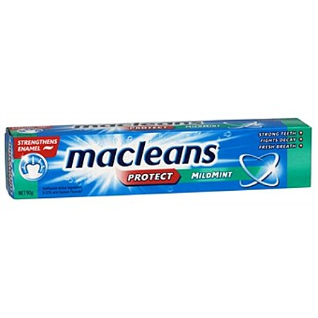 macleans mild mint toothpaste